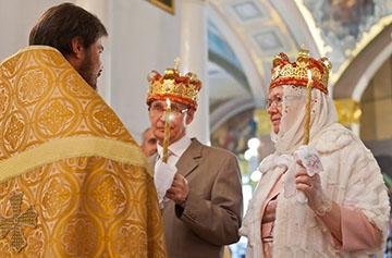 венчание пожилых