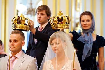 венчание со свидетелями
