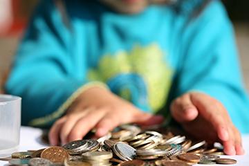 деньги ребенку