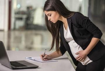Увольнение временного работника находящегося в декретном отпуске